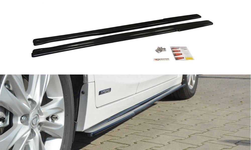 Dokładki Progów Lexus CT Mk1 Facelift - GRUBYGARAGE - Sklep Tuningowy